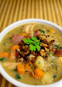 Apple Cider Chicken Stew - (Free Recipe below)