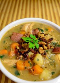 Apple Cider Chicken Stew - (Free Recipe below)