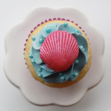 Sea Shell Cupcakes - One Dozen