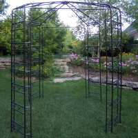 Solei Iron Gazebo - custom sizes, styles available