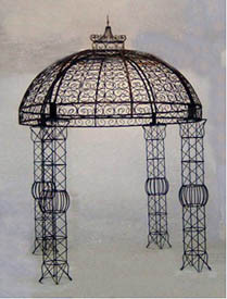 Princess Wedding Gazebo - custom sizes available