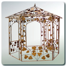Vineyard Gazebo - custom sizes, styles available
