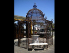 Wrought Iron Oriental Pagoda Gazebo - Custom Orders Accepted