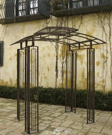 Tuscan East West Arbor, custom sizes, styles available