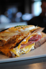 Croque Madame with Fried Duck Egg - (Free Recipe below)