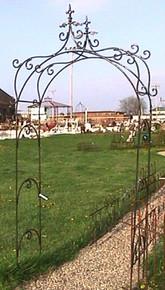 Fleur de Lis Arch