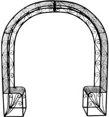 Single Seat Arbor / Arch
