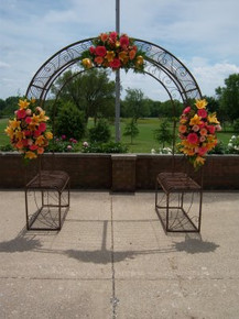 Wedding Arch  w/ Planters - custom orders accepted