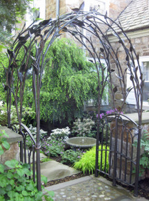 Natural Leaf Arbor - custom designs available