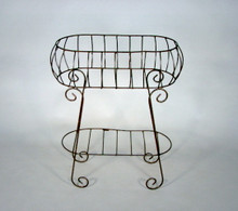 Iron Oval Plant Stand