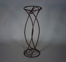 "35"" Iron Plant Stand"