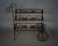 Wrought Iron Serving Cart