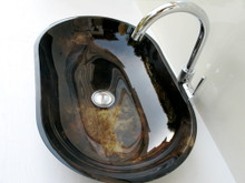 Crystal Glass Sink - custom designs available