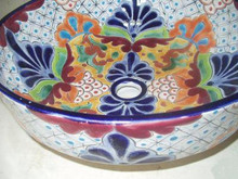 Hand Painted Vessel Sink - custom sizes, styles available