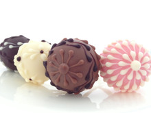Gourmet Chocolate Artisan Lollipops - 2 Sets