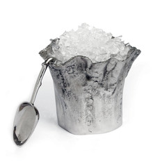 Star Home Artisan Trunk Ice Bucket with Scoop, 10-InchH