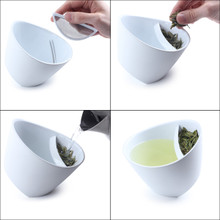 The Tipping Tea Cup - White or Black