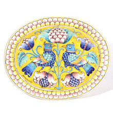 Florentine Love Birds Platter or Wall Plate