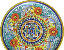 "Giglio 24"" Large Wall Plate"