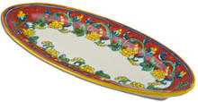 Oval Fish Serving Platter, multiple designs available