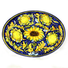 Sunflowers Lemon Montelupo Platter