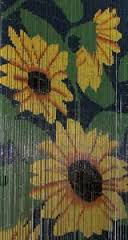 Sunflowers Bamboo Beaded Curtain