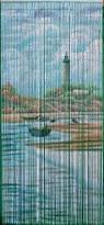 Lighthouse Bamboo Beaded Curtain