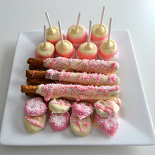 Pink Princess Girls Party Treats For 24 Guests