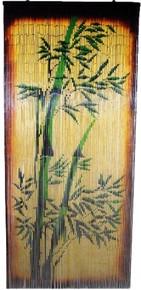 Bamboo II Bamboo Beaded Curtain