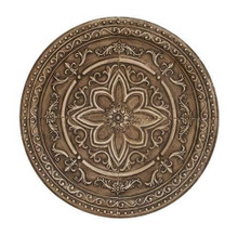 """Embossed Round Wall Medallion 38"""""""