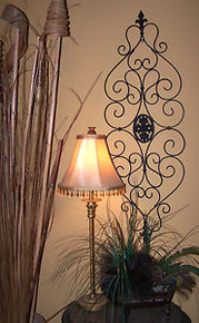 French Iron Scroll Wall Grille
