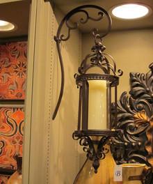 Hanging Lantern Designed in an Old World Design
