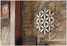 Baiano Flower Like Metal Wall Art Sculpture