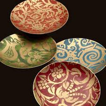 Fortuny Venice Desert Plates - priced per plate