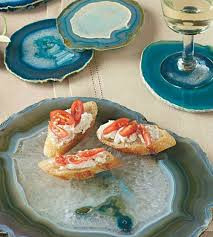 Agate Plate Set - multiple colors sizes available