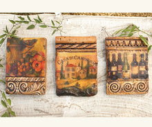 Italy Scene Wall Decor Tiles - Set of 3