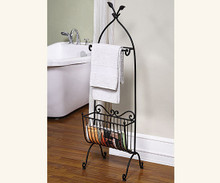Songbird Towel and Magazine Rack