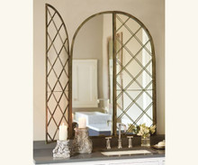 Lattice Archway Mirror
