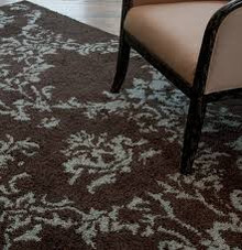 Valence Damask Rug - Various sizes and colors available