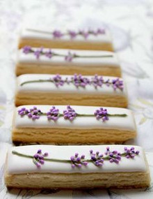 Lavender Tea Cookies - 2 Dozen