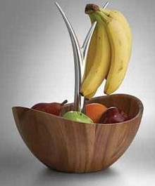 Modern Fruit Tree Bowl, Nambe