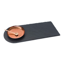 Just Slate Copper & Slate Serving Platter