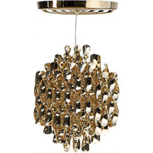Verpan Spiral Pendant Light Gold or Silver