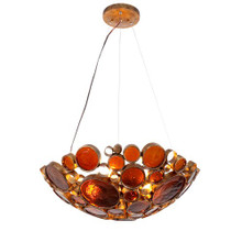 Fascination Pendant Light - Silver, Copper or Amber