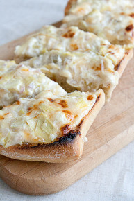 Artichoke Garlic & Cheese Bread - (Free Recipe below)