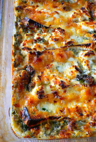 Brie and Spinach Dip with Parmesan and Artichoke Hearts - (Free Recipe below)