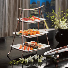 Skalny Metal/Porcelain 3 Tier Server