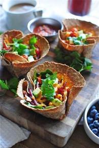 Breakfast Taco Cups - (Free Recipe below)