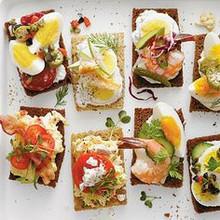 Southern Style Smørrebrød - Menu w/ Recipe below