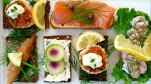 Scandanavian Style Smørrebrød - Menu w/ Recipe below
